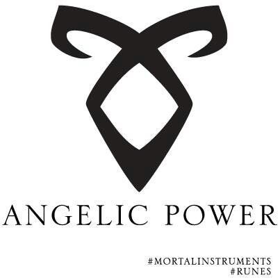 Angelic Rune Mortal Instruments Tattoo Angelic power r...