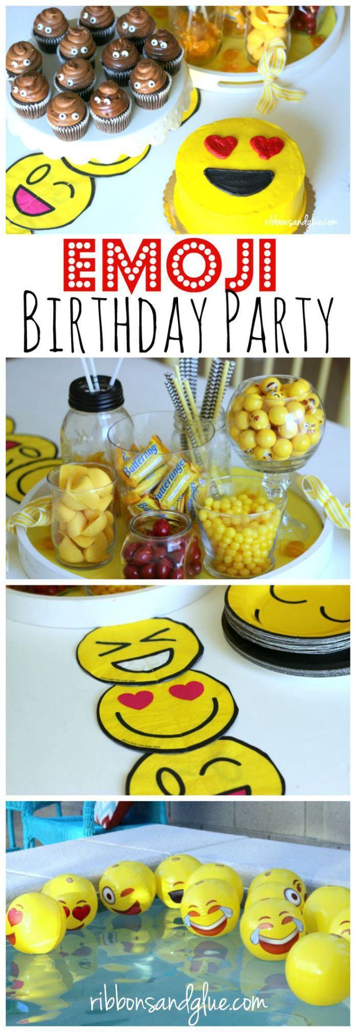 Best Diy Crafts Ideas For Your Home How To Throw An Emoji Birthday Party Complete