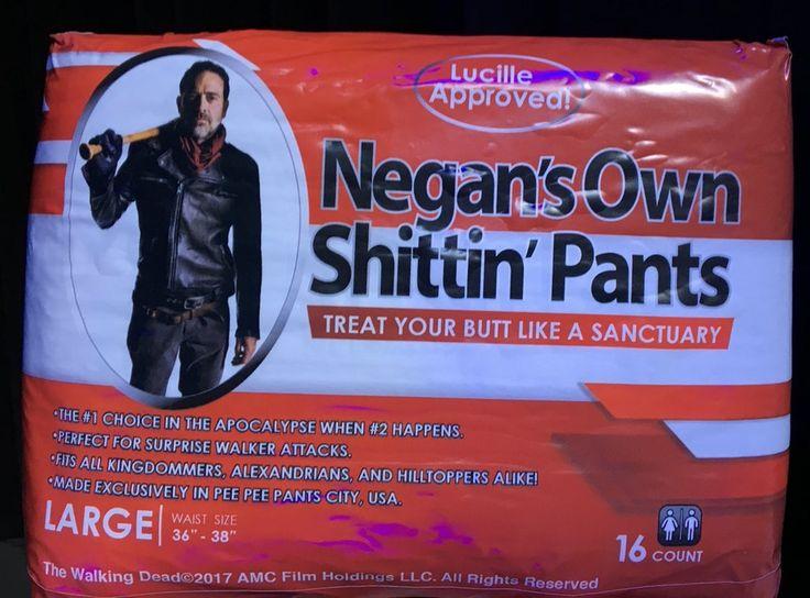Negan's Own Shitting Pants : thewalkingdead