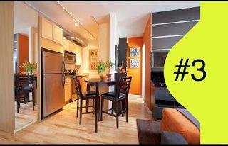 Interior Decorating - IKEA Small Spaces - Tiny Apartment  Interior Design Ideas