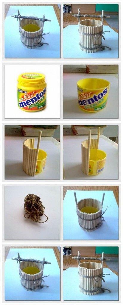 Chick - Como hacer un mini pozo con materiales reciclados