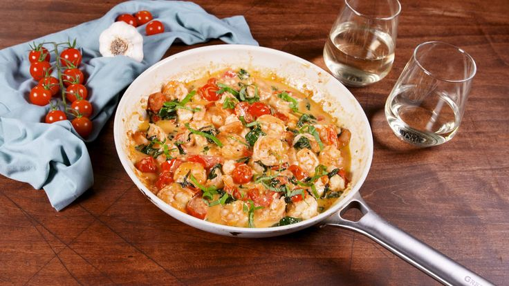 Tuscan Butter Shrimp Good Keto recipe too :)