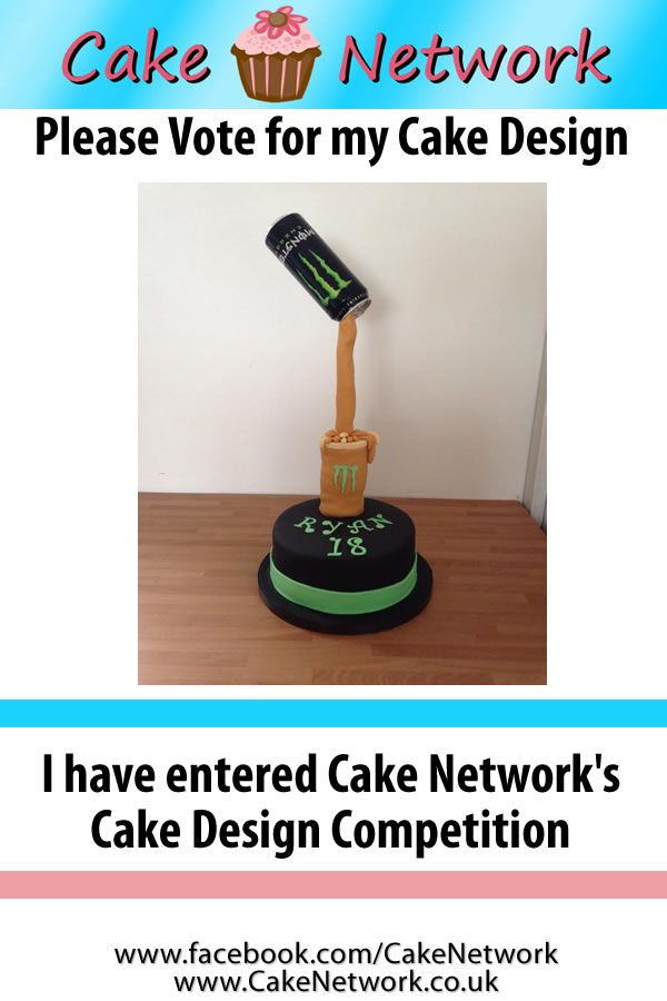 Jennifer Chudley won this weeks Cake Contest. To enter our weekly cake contest, send us a picture of one of your cakes on our facebook page.  www.facebook.com/cakenetwork
