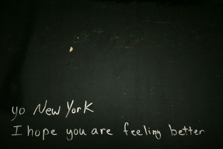 Scribbled on a wall near Ground Zero ahead of the fifth anniversary of 9/11