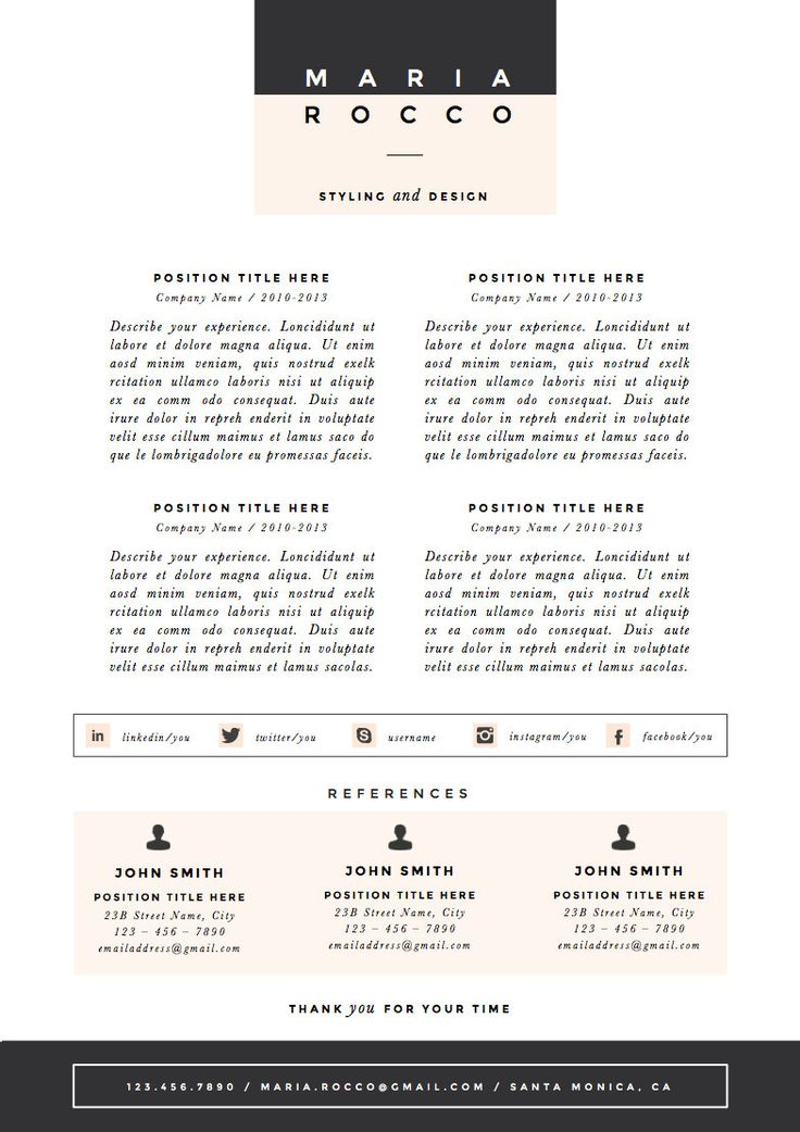 22 best CV images on Pinterest Resume, Curriculum and Cv template - ideal cover letter