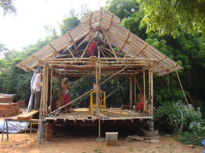 Mejores 185 im genes de bamboo house en pinterest for Muebles bambu pdf