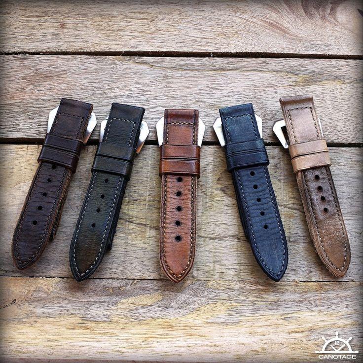 bracelets vintages Canotage pour Panerai et autre
