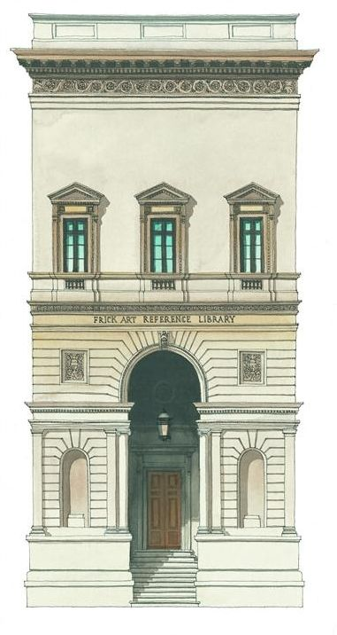 Frick Collection, Reference Library // Andras Kaldor