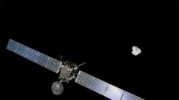 23 June 2015 The adventure continues: ESA today confirmed that its Rosetta mission will be extended until the end of September 2016, at which point the spacecraft will most likely be landed on the surface of Comet 67P/Churyumov-Gerasimenko.