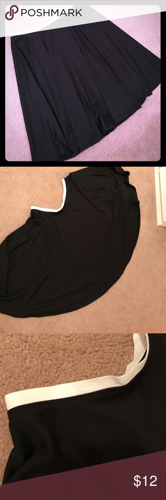 Final sale-Donating Oct28thth- Handmade skirt New. Black midi circle skirt. Feel free to ask question. handmade Skirts Midi