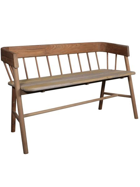 Hand Crafted Teak Bench - Nordic House