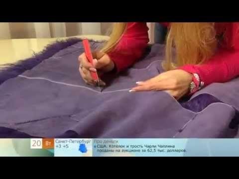 жилетка из меха - YouTube