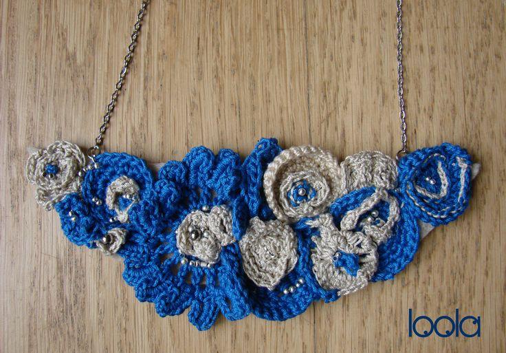 collana free form crochet