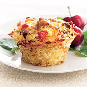 Cheesy Hash Brown Cups | Simply Potatoes