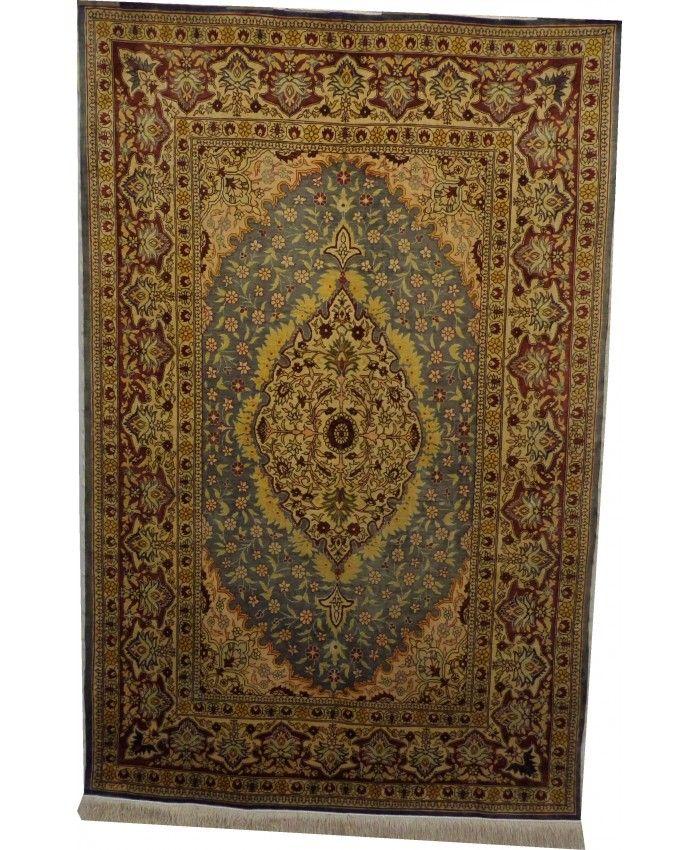 Handmade Turkish Hereke Original Silk Carpet – FRE…