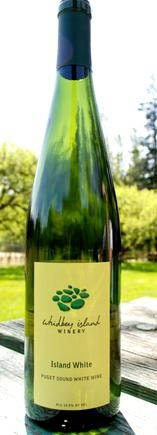 Island White Wine - refreshing white for the hot summers.  Madeleine Sylvaner and Madeleine Angevine varietals are locally grown on   Whidbey Island Winery in the Puget Sound near Seattle, WA.