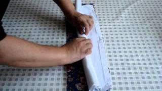 Como fazer canto mitrado duplo   Cantinho do Video Costura em Roupas