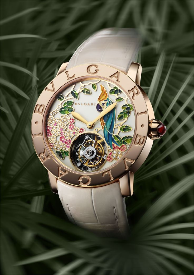 Baselworld 2013: Il Giardino Tropicale Di Bvlgari - The First Grand Complication Ladie's Watch