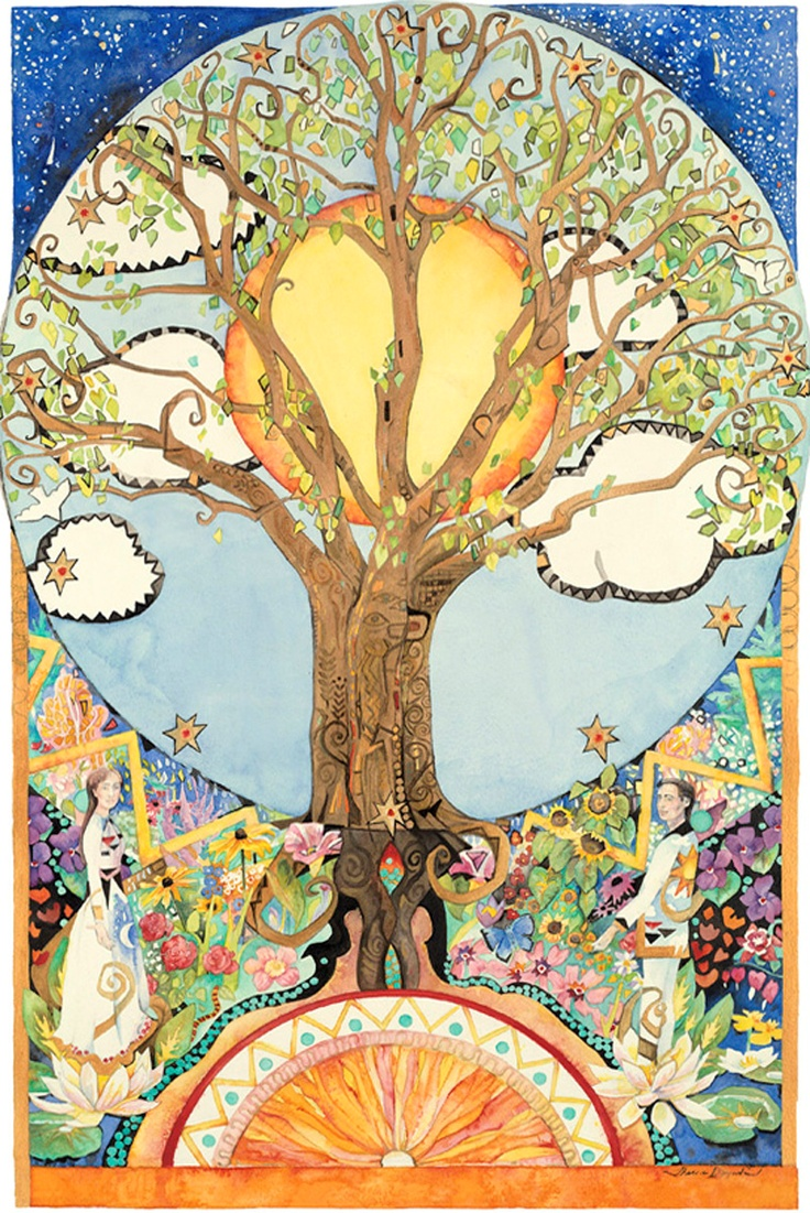 548 best Tree of Life images on Pinterest | Tree of life, Tree art ...
