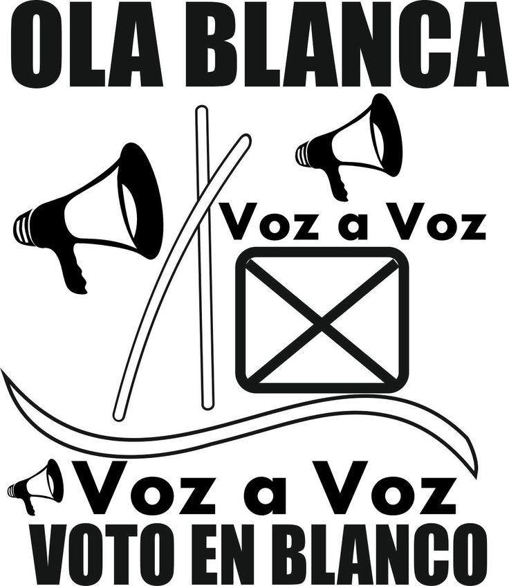 Voto en blanco, Voz a Voz