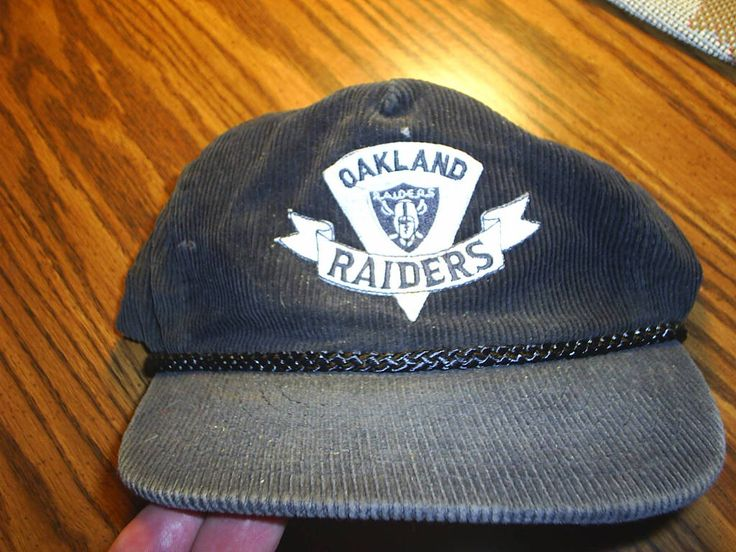 Oakland Raiders Official Hat in Hubbie16's Garage Sale in Colorado Springs , CO for $7.00. Oakland Raiders Official Hat