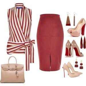 Winser London Cotton Jersey Striped Wrap Top