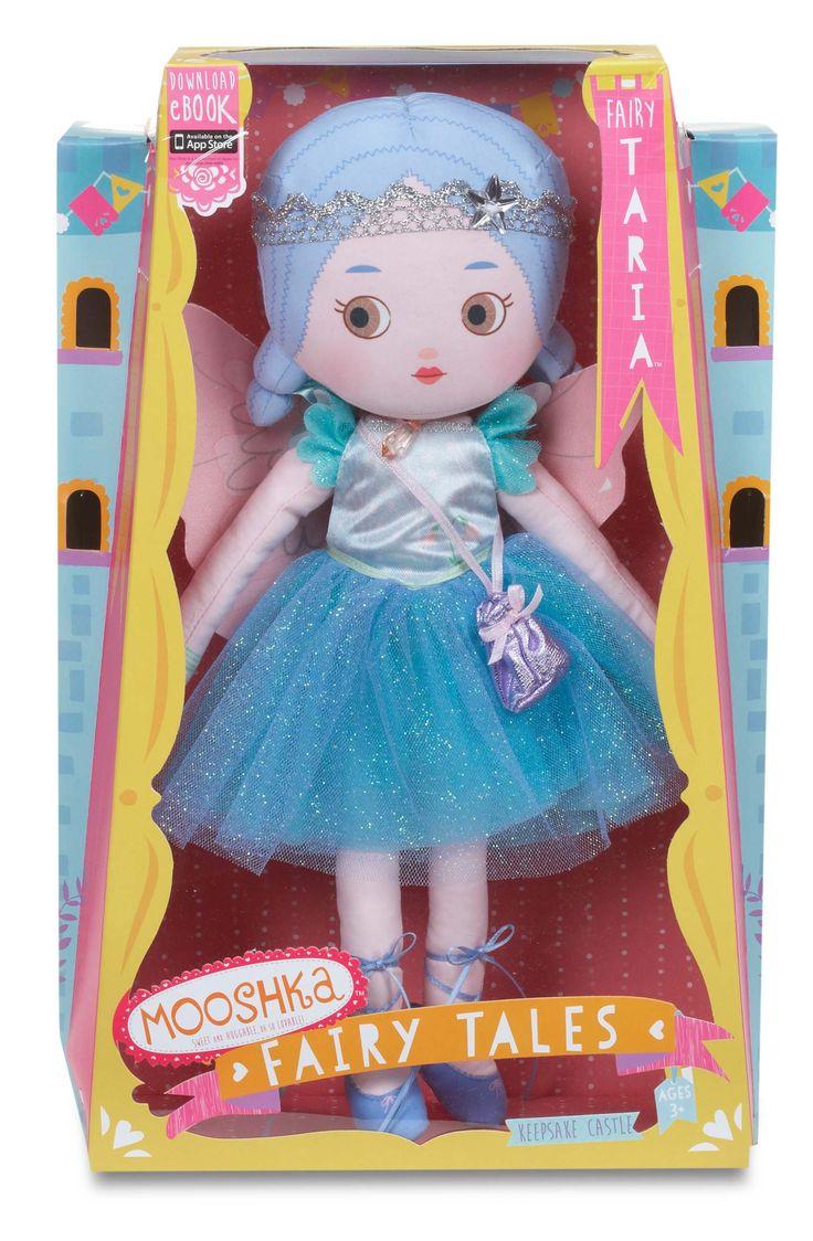 Amazon Com Mooshka Fairytales Girl Doll Fairy Taria