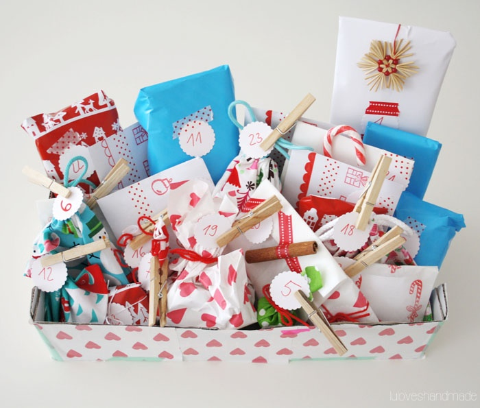 lu loves handmade: Handmade Advent calendar, part two.