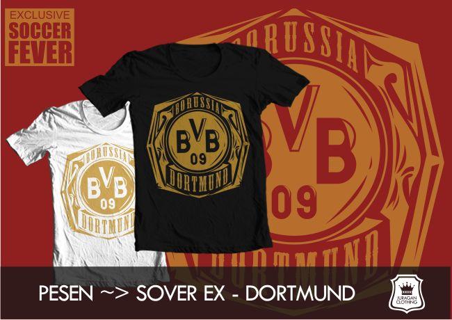 Kaos BORUSSIA DORTMUND [READY STOCK] sablon  : Emas Fast Order : CP/@BolaBolatshirt