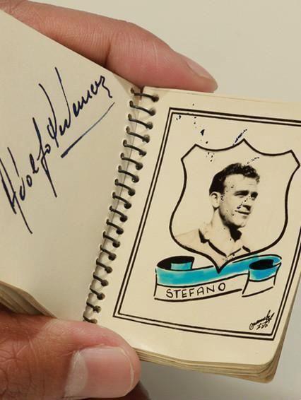 Album Fotografico Millonarios Campeón 1949 - Alfredo Di Stefano