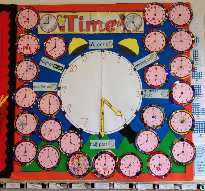 Time classroom display photo - Photo gallery - SparkleBox