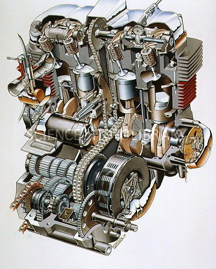 47b92be2e9b71c00c0ce33dec8d24f45 honda cb honda motorcycles honda cb750 engine cutaway (silodrome) motorcycle engine cb750 engine diagram at alyssarenee.co
