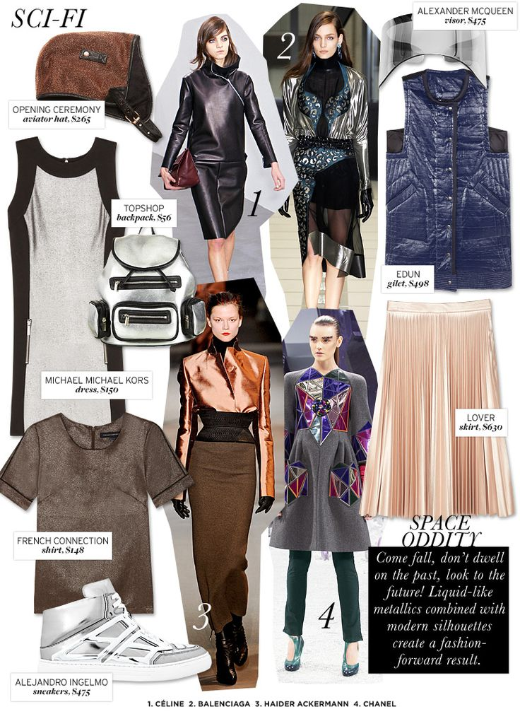 Who What Wear | Fall 2012 Trend Guide | Sci-Fi