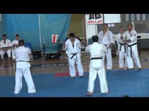 Karate Shidokan Hellas kancho Yoshiji Soeno Visit 2013