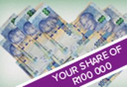 Win your share of R100, 000 worth R25,000 from Justplay (South Africa)  #cash #productfundi