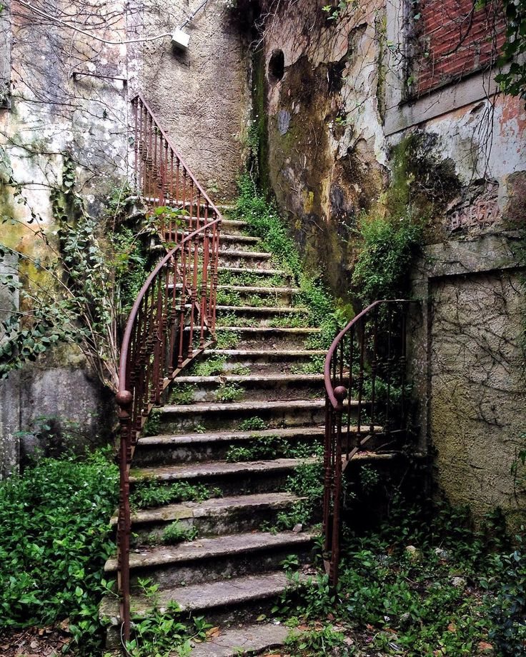 #staircase to #nowhere #sintra #abandoned #abandonado #iphone #iphonecamera