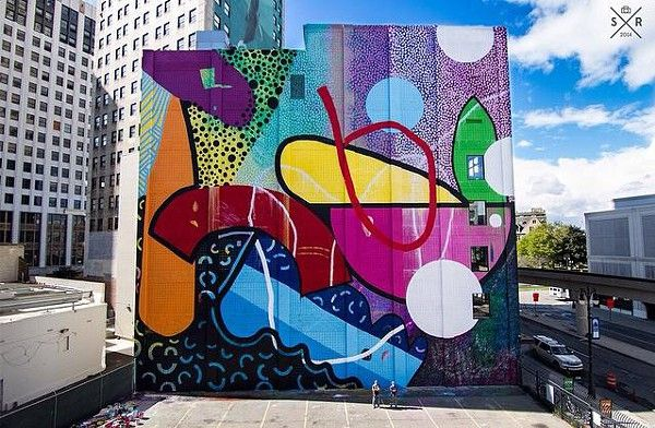 New Hense-designed mural debuts in Detroit today | Blogs | Detroit Metro Times