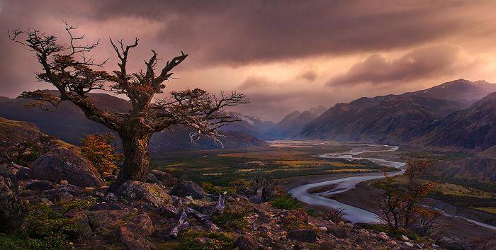 Argentina, Patagonia, Autumn, River