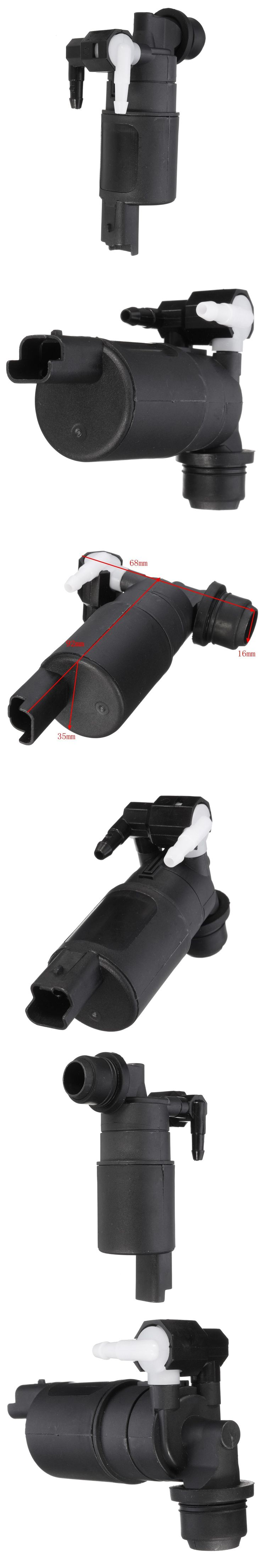 Front Windscreen Washer Fluid Pump For Nissan Navara Pick up D40 2005- 2013