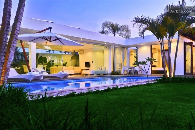 Stunning solar powered modern villa in Kuta from $450 per night