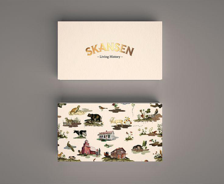 """Titta på det här @Behance-projektet: """"Skansen Brand Identity"""" https://www.behance.net/gallery/44748517/Skansen-Brand-Identity"""