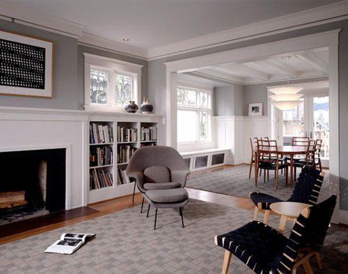 Dekorationsideen in Craftsman Stil modern möbel bücherregale