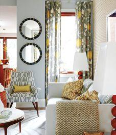 Design lesson: Sarah Richardson's chic living space