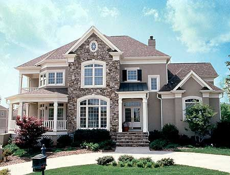 Best 25 houses ideas on pinterest homes nice houses for Large home plans with pictures