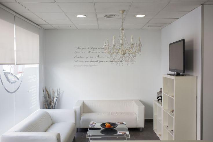 Sala de espera, de Instituto Médico y dental Dentista en Valencia