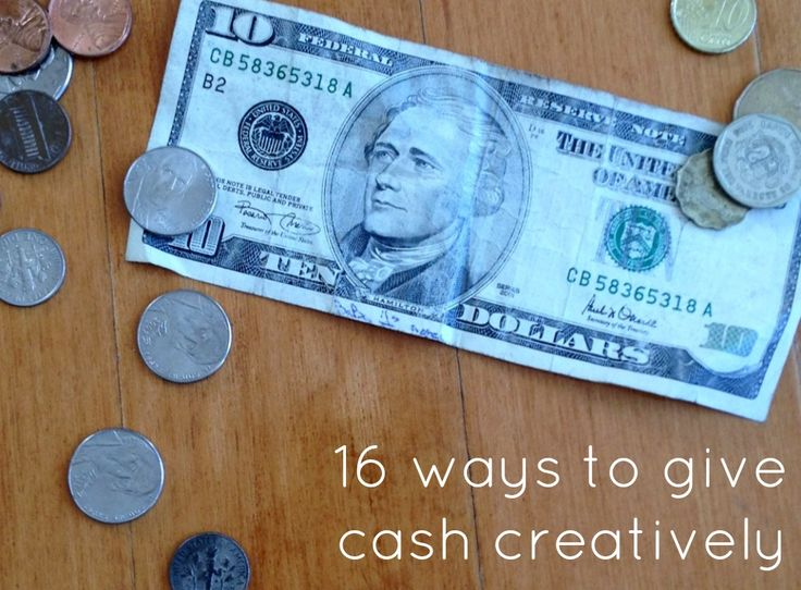How to give cash for birthday/ Christmas/ graduation! via @thecraftblog