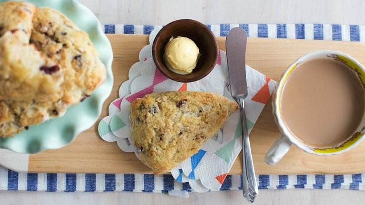 Orange Scone Wedges with Cream Cheese Filling recipe from Betty Crocker
