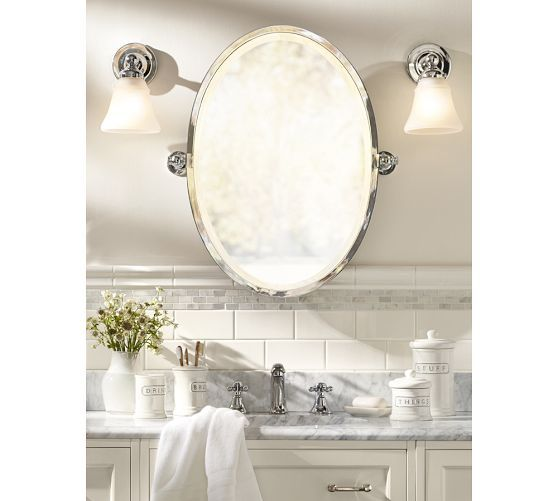 Kensington Pivot Oval Mirror