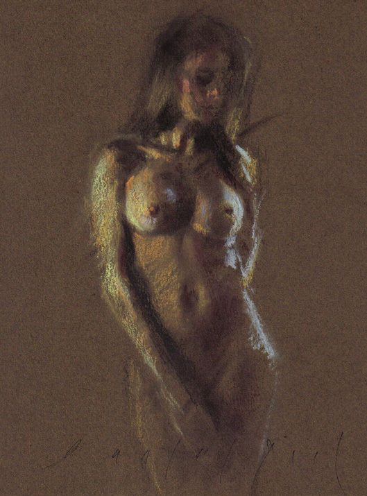 Artistic Female Figure Model Nude