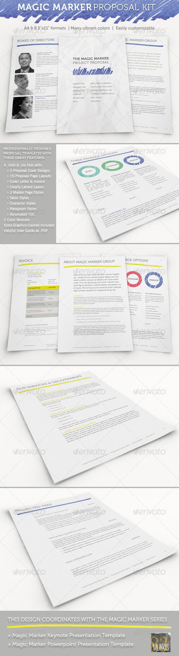 Magic Marker Business Proposal Template